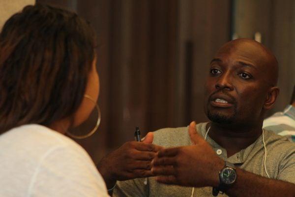 BPI alumni in conversation.