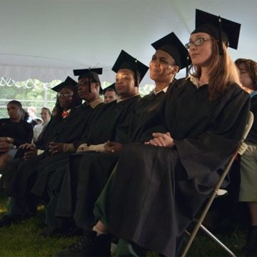 Students at BPI's 16th Commencement