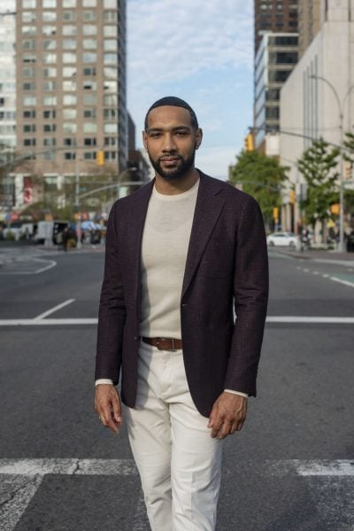 Dyjuan Tatro was a member of the Bard Prison Initiative debate team at Eastern New York Correctional Facility that beat Harvard University in 2015. PHOTO: JAMES SPRANKLE FOR THE WALL STREET JOURNAL