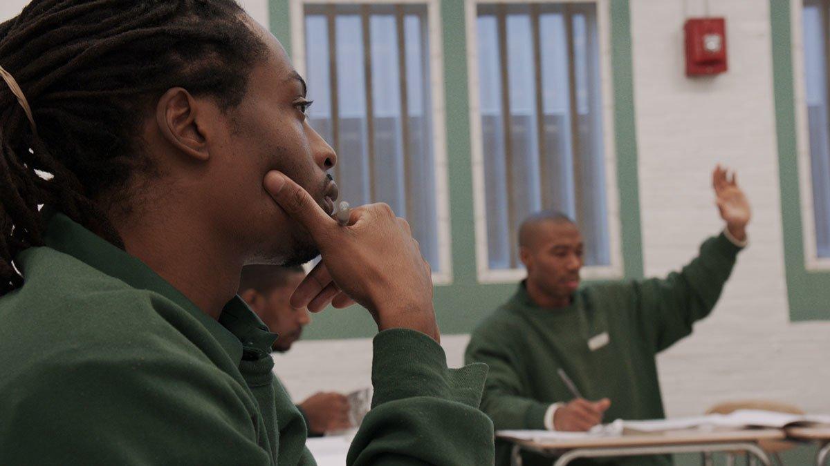 Rodney Spivey-Jones in a classroom at BPI.