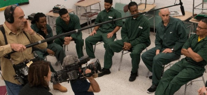 "Still from ""College Behind Bars,"" courtesy PBS"