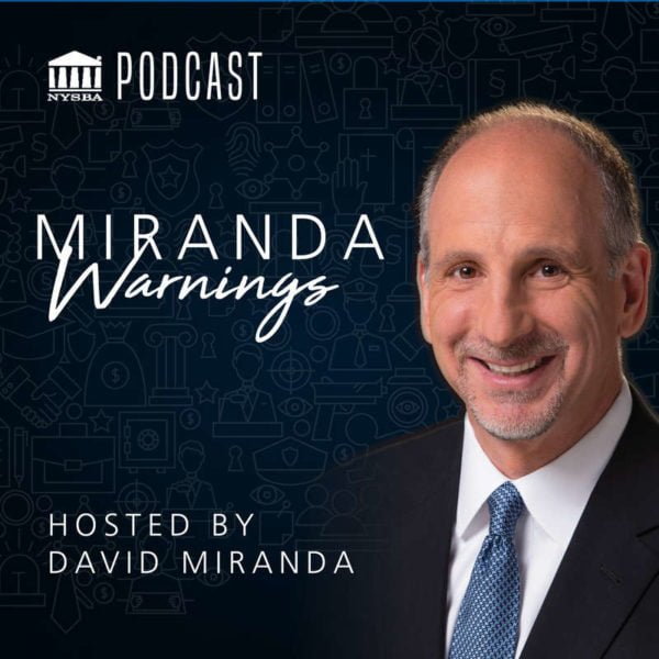 Miranda Warnings Podcast artwork